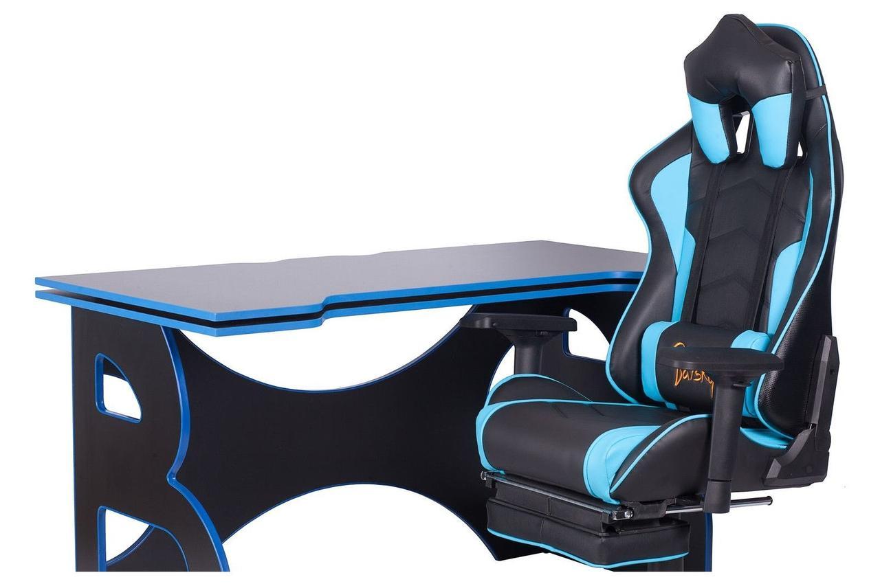 Геймерская станция Barsky Homework Game  Blue/Black HG-04/SD-19