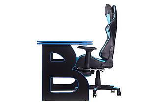 Геймерская станция Barsky Homework Game  Blue/Black HG-04/SD-19, фото 2