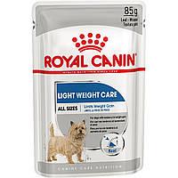 Влажный корм Royal Canin Light Weight Loaf Care для собак склонных к избыточному весу 85ГР*12ШТ