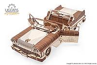 Механический 3D пазл UGEARS Кабриолет мечты VM-05 (70073)