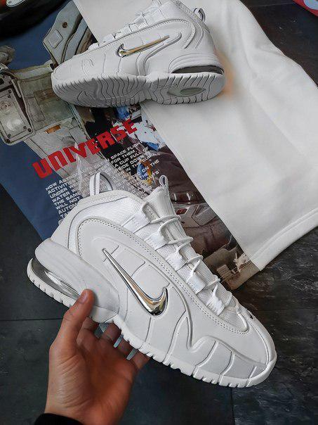 Мужские зимние кроссовки Nike белые