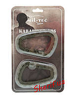 Карабин тактический ABS (2 шт) MIL-TEC Olive, 15921001