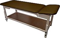 Массажный стол стационарный деревянный PR_007 Коричневый