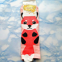 Шкарпетки жіночі Золото з принтом рожеві розмір 36-41