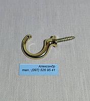 Крючок мебельный   WK1103 золото 3.5см