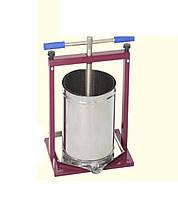 Пресс винтовой, разборной 15 л для сока винограда, яблок других фруктов, овощей и ягод