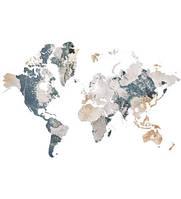 Фотообои  Карта мира   арт. 231120181