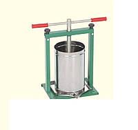 Пресс винтовой разборной для сока 10 л