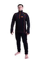 Комплект мужского термобелья на одежду Carpe Diem Icebreaker XL черный (20016)