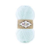 Пряжа для вязания Альпака роял Ализе ALIZE цвет 522 мята