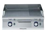 Электрическая плита контактной жарки с 2/3 гладкой и 1/3 рифленой поверхностью