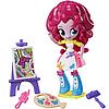 Игровой набор Hasbro B4909/B9472 My Little Pony Equestria Girls Minis  Pinkie Pie Пинки Пай Художница