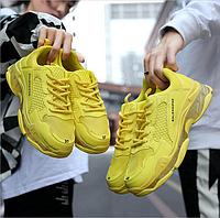 Мужские кроссовки BALEHAIFHE желтые
