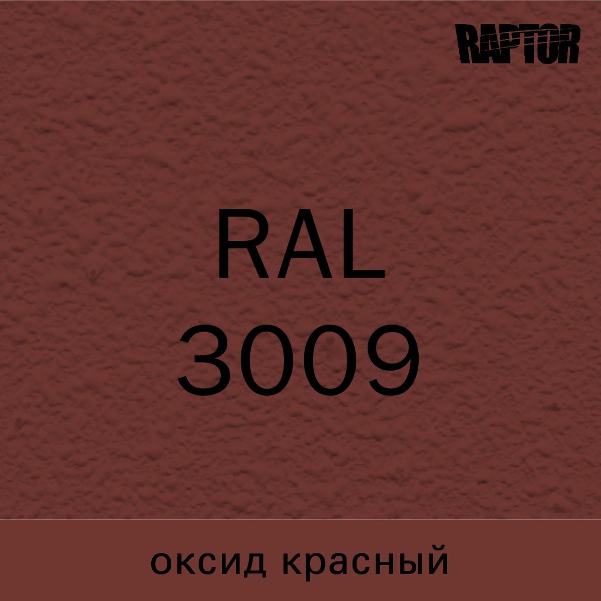 Пигмент для колеровки покрытия RAPTOR™ Оксид красный (RAL 3009)