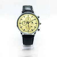 Мужские наручные часы Rolex (Ролекс), серебро с желтым циферблатом ( код: IBW245SY )