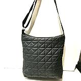 Женские стеганные сумки на плечо оптом (БРОНЗА)32*34см, фото 3