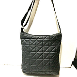 Женские стеганные сумки на плечо оптом (КРАСНЫЙ)32*34см, фото 3