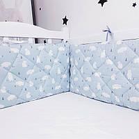 Захист у ліжечко HappyLittleFox Polar Bear, фото 1