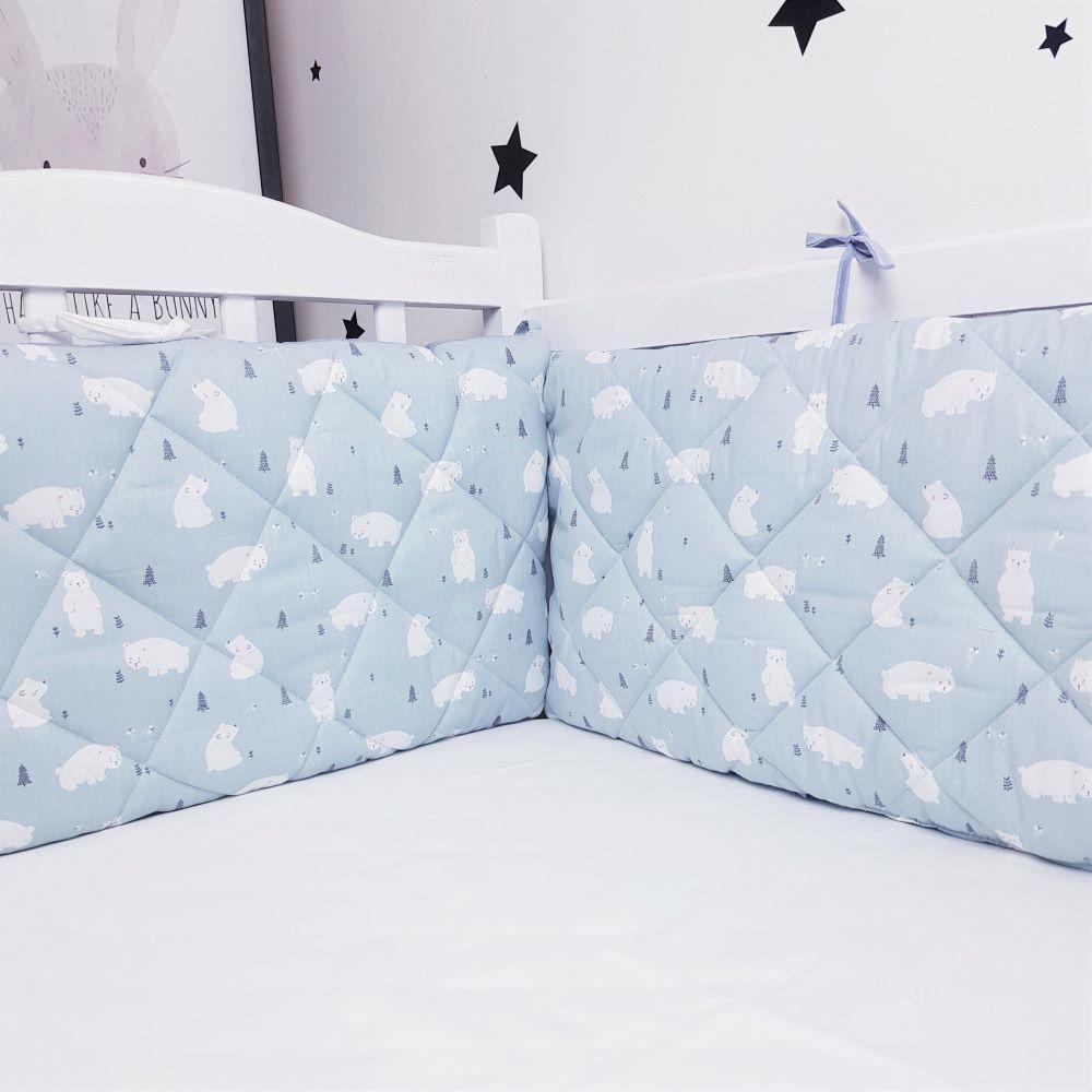 Захист у ліжечко HappyLittleFox Polar Bear