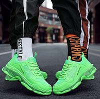 Мужские кроссовки BALEHAIFHE зеленые