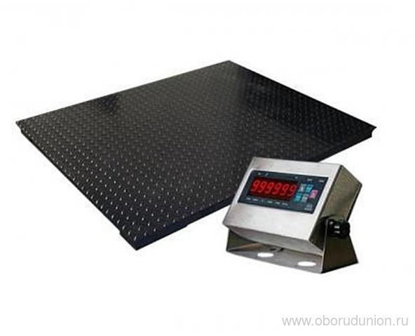 Весы платформенные ВПЕ-1000-4(H1212) ЗЕВС (1000кг)