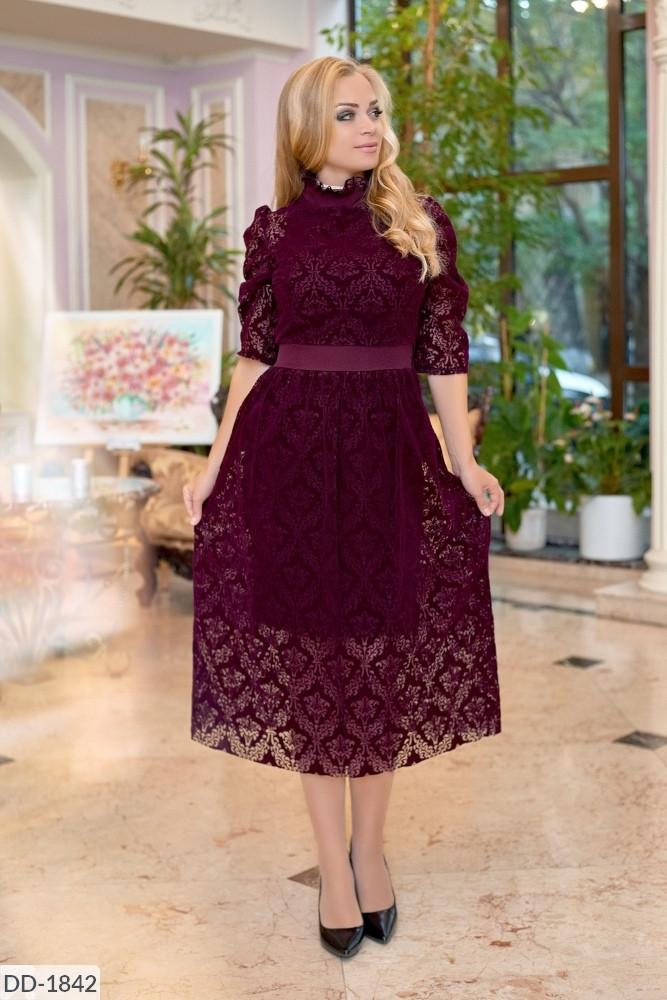 Стильное платье     (размеры 50-56) 0222-57