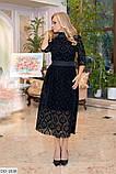 Стильное платье     (размеры 50-56) 0222-57, фото 2