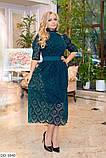Стильное платье     (размеры 50-56) 0222-57, фото 3