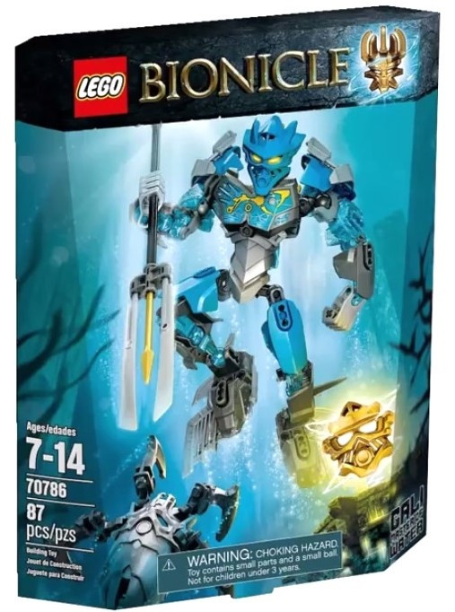 Lego Bionicle Гали - Повелительница Воды 70786