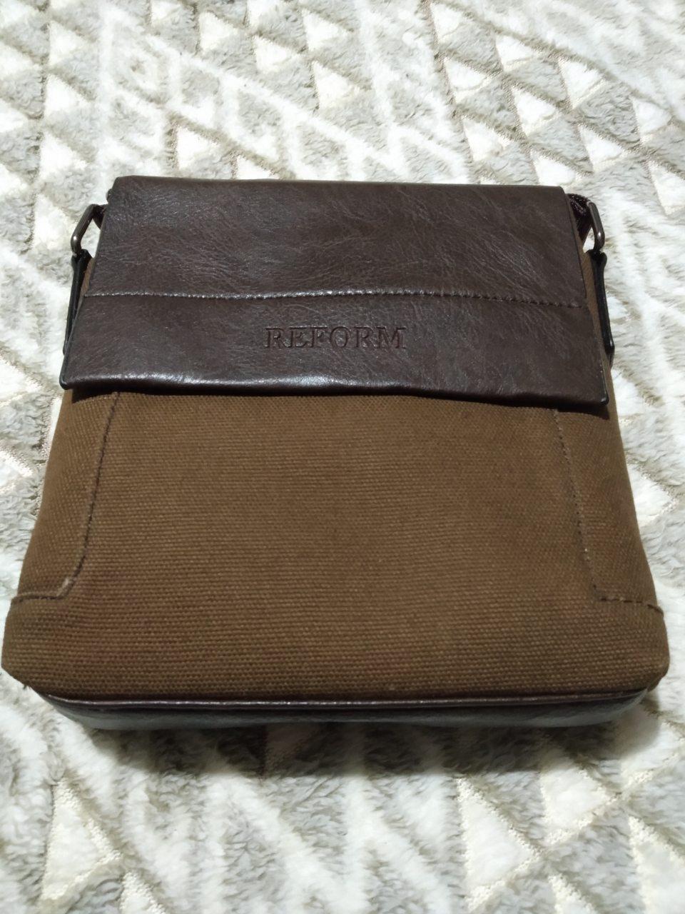 Стильная сумка планшетка Reform