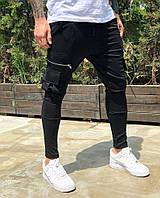 Мужские спортивные штаны Black Island 8040 black, фото 1