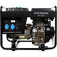 Дизельный генератор Hyundai DHY 6500L, фото 2
