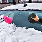 [ОПТ] Автомобільний скребок для льоду у формі воронки. Конус-скребок для очищення снігу і льоду з лобового, фото 6