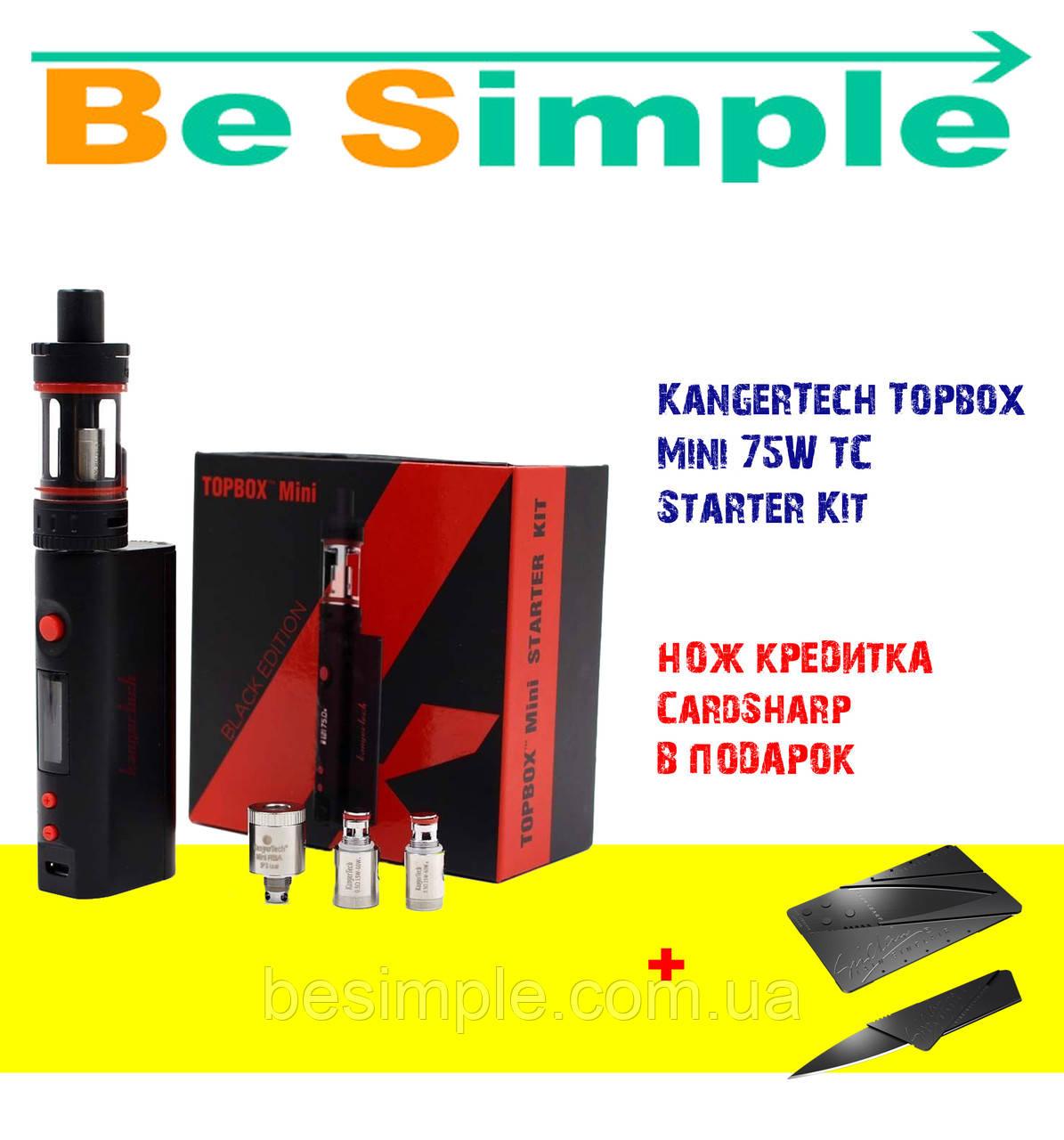 Электронная сигарета KangerTech Topbox Mini 75W TC Starter Kit (Quality Replica)