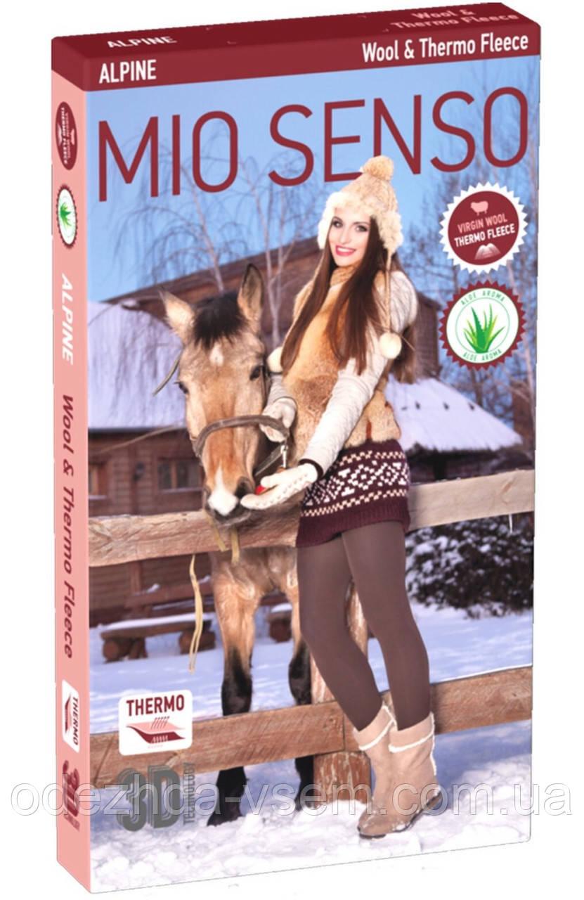 Шерстяные двойные  Термо Колготы Премиум качества Mio Senso Alpine р 4