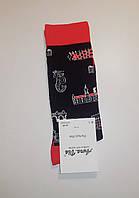 """Новорічні шкарпетки чоловічі зимові без махрові всередині бавовна """"Aura"""" 43-46"""