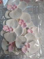 Орхидея   d-4 cм в  наборе 6 шт, фото 1