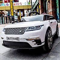 Детский электромобиль T-7834 EVA WHITE Land Rover, белый