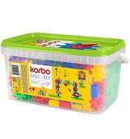 """Набор для творческого конструирования  KORBO """"Basic"""", 180 деталей"""