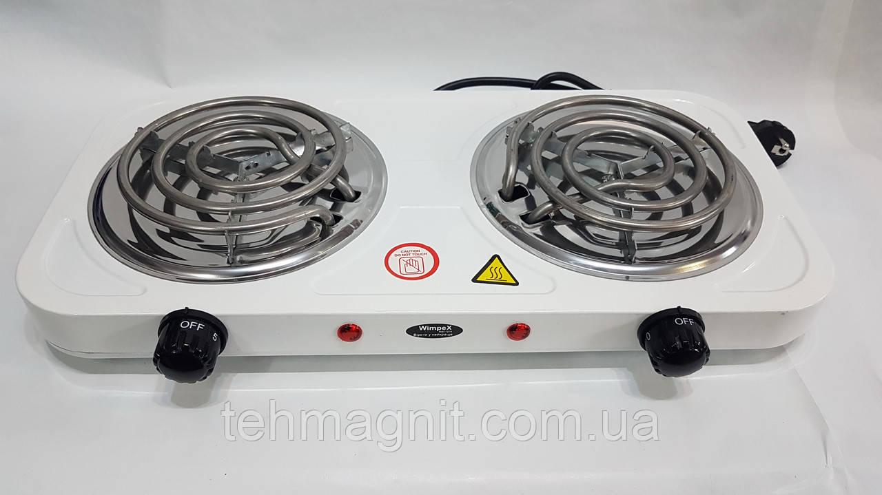 Электроплита спиральная WIMPEX WX-200C-HP  2000 W