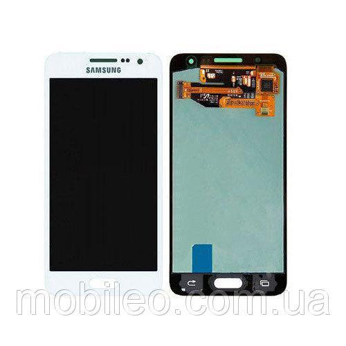 Дисплей (LCD) Samsung A300 Galaxy A3 (2015) TFT с тачскрином, белый