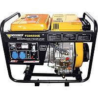 Электрогенератор дизельный 4.8 кВт., Ручной/Электро старт, Forte FGD6500E (43690)