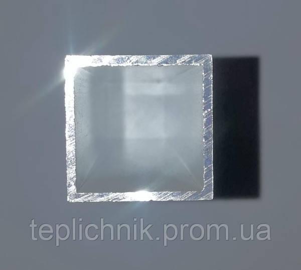 Алюминиевая профильная труба 25х25мм