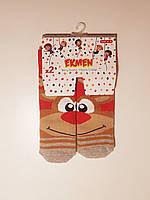"""Новогодние носки детские  зимние махровые внутри хлопок  1-2  года """"EKMEN """", фото 1"""