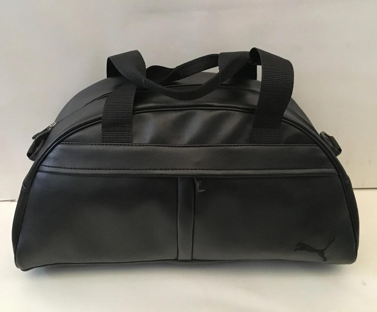 Спортивная сумка Puma (Пума), черная ( код: IBS015BB )
