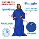 [ОПТ] Плед з довгими рукавами Snuggie Blanket. Плед-халат Snuggie Blanket, фото 7
