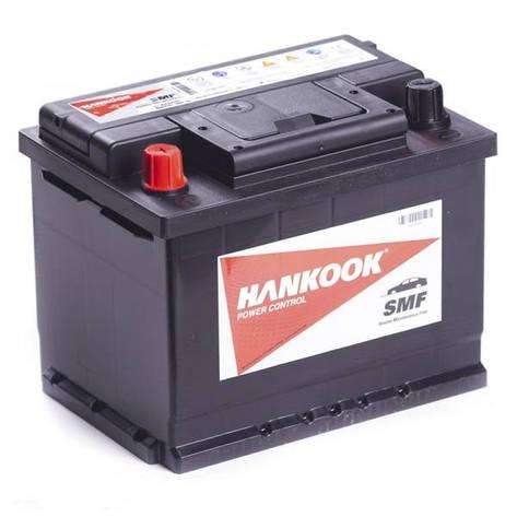 Автомобильный аккумулятор Hankook 6СТ-62 АзЕ MF56219, фото 2