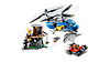 Конструктор LEGO 60173 City Арешт в горах 303 деталі (ЛЕГО СИТИ Арест в горах 60173), фото 4