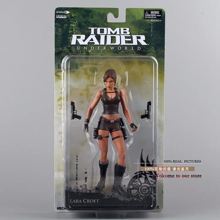 Фігурка Лари Крофт Tomb Raider Underworld Lara Croft NECA Уцінка!