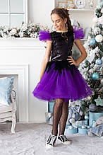 Детский праздничный костюм-двойка на девочку ( топ +юбка ) Размеры 134- 152